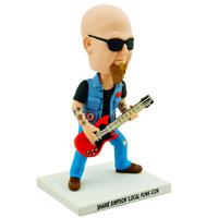 Custom Made Bobblehead Bass Guitar Player