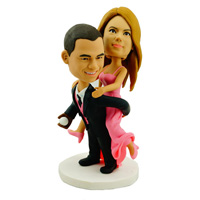 custom made bobblehead funny couple
