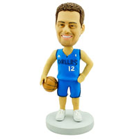 custom made bobblehead basketball player