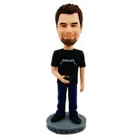 custom made bobblehead game player