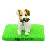 custom made bobblehead dog - jack russell terrier
