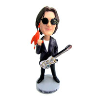 custom male guitarist bobblehead