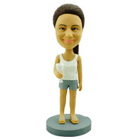custom made bobblehead casual 7