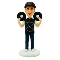 Custom Made Bobblehead DJ