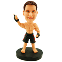 MMA Fighter Custom Bobble Head