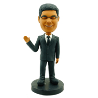 custom made bobblehead businessman 04