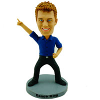 Custom Made Bobblehead Dancing Man