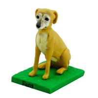 custom made bobblehead dog -pembroke welsh corgi