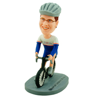 custom made bobblehead cyclists