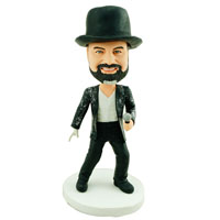 Custom Made Bobblehead Singing Man