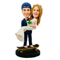 custom bobblehead couple 1