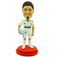 custom made bobblehead soccer player
