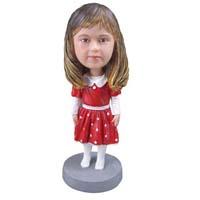custom bobblehead girl