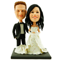 custom made bobblehead marriage