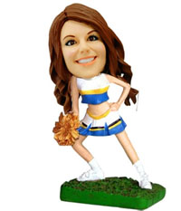 Cheerleader Custom Bobblehead