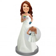 Custom Bridesmaid Bobble Head #01