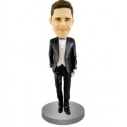 Smart Groomsman Bobblehead #08