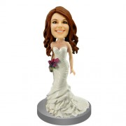 Bridesmaid Personalized Bobble Head #05