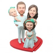 Family customized bobbleheads