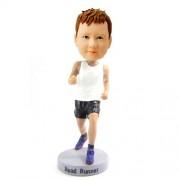 custom running boy bobblehead