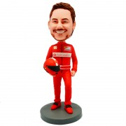 customised F1 Ferrari racer bobblehead