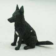 Custom bobblehead dog - Black German Shepherd
