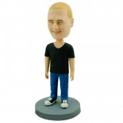 #29 custom casual bobble head