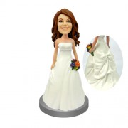Bridesmaid Personalized Bobblehead Doll #10