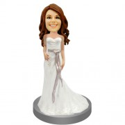 Bridesmaid Personalized Bobblehead Doll #09
