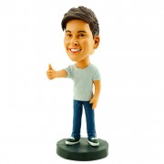 #26 custom casual bobble head
