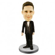 Smart Groomsman Bobblehead #09