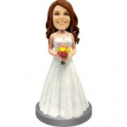 Bridesmaid Personalized Bobblehead Doll #08