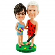 Custom bobblehead for Humorous Couple