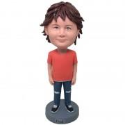 personalised funny kid bobblehead