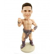 personalized body builder bobble head doll