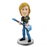 customized bobblehead bass player