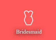 Custom Bobbleheads Bridesmaid