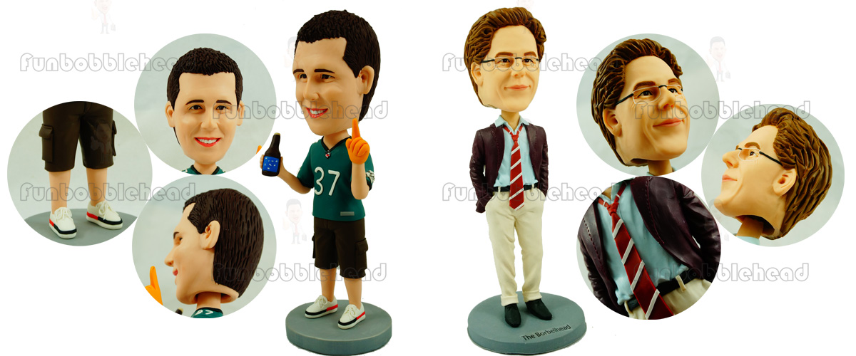 art works of bobble head 33