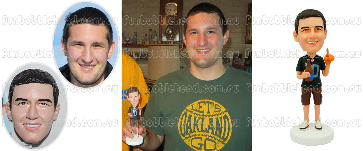 Custom bobblehead review from Michael Resivo Hilley